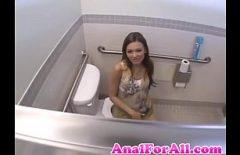 Sexe Anal Dans Les Toilettes De La Police Avec Ioana Pornista