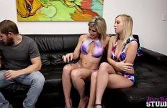 Sexe Avec Deux Chattes Blondes Très Nympho