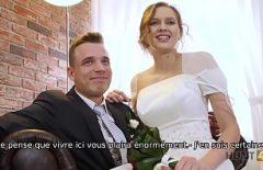 Timisoara Bride Baise Son Petit Ami Avant Le Mariage