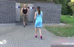 Sexe En Public Avec Une Jolie Demoiselle Qui Traque Les Hommes Dans La Rue
